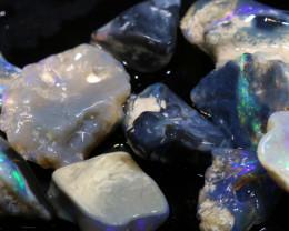 44.30cts lightning ridge opal rough parcel ADO-8903 - adopals