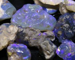 59.10cts lightning ridge opal rough parcel ADO-8908 - adopals