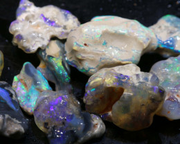 42.50cts lightning ridge opal rough parcel ADO-8909 - adopals