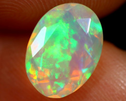 1.49cts Natural Ethiopian Faceted Welo Opal /BF7421