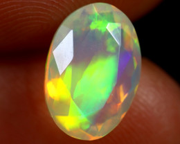 1.71cts Natural Ethiopian Faceted Welo Opal /BF7424