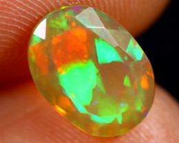 1.50cts Natural Ethiopian Faceted Welo Opal /BF7428