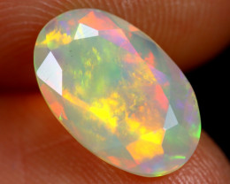 1.54cts Natural Ethiopian Faceted Welo Opal /BF7430