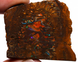 Koroit Boulder Opal Faced Rough 129  cts  DO-1914 downunderopals