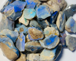 335 Cts Potential & Possible Cutters Rough Seam Opals to Go Thru and Keep B