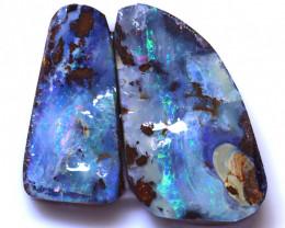 28.73 Carats Yowah Opal Pre Shaped Rough Parcel  ANO-2038