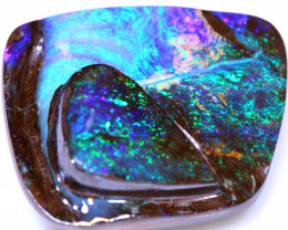 32.60 cts boulder opal polished cut stone  TBO-A3425   - trueblueopals