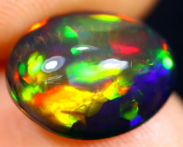 2.61cts Natural Ethiopian Welo Smoked Opal / HM2586