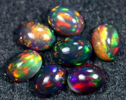 6.83cts Natural Ethiopian Welo Smoked Opal Lots / HM2592