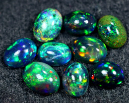 7.24cts Natural Ethiopian Welo Smoked Opal Lots / HM2597