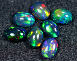 4.88cts Natural Ethiopian Welo Smoked Opal Lots / HM2610