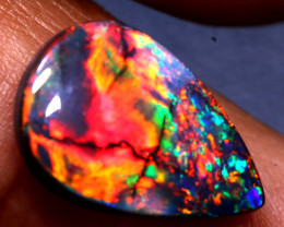 N1 -  3.75 CTS QUALITY BLACK OPAL STONE L7199 INV-2217investmentopals