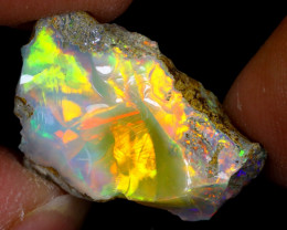 6cts Natural Ethiopian Welo Rough Opal / WR7837