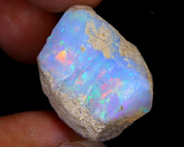 43cts Natural Ethiopian Welo Rough Opal / WR7934