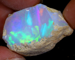33cts Natural Ethiopian Welo Rough Opal / WR7942