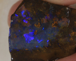 NO RESERVE!! #5 BOULDER Gamble Rough Opal [34276] 53FROGS
