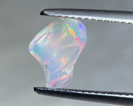 Opal 0.5 Cts  Muticolor  Polished Thumbled BGC2167 | From Ethiopia