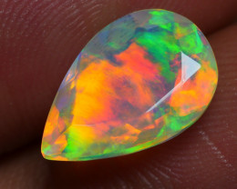 1.985 CRT BEAUTIFUL FACETED MULTI PLAY COLOR  WELO*