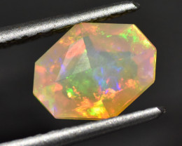 1.61cts Faceted Ethiopian Opal (R2978)