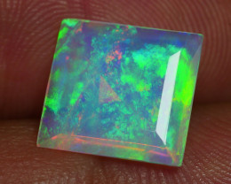 1.720 CRT BEAUTIFUL SQUARE FACETED MICRO MULTI PLAY COLOR  WELO*