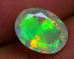 1.525 CRT BEAUTIFUL FACETED MULTI PLAY COLOR  WELO*