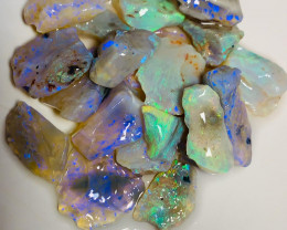 High Grade Bright Clean Rough Seam Opals to Cut - Cutters Select Rough