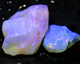 10.20cts coober pedy crystal opal rough DT-A4998 - dreamtimeopals