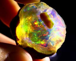 48cts Ethiopian Crystal Rough Specimen Rough / CR4386