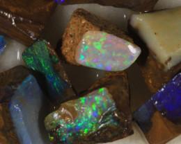 NO RESERVE!! #7 BOULDER Gamble Rough Opal [34300] 53FROGS