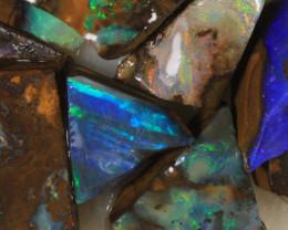 NO RESERVE!! #7 BOULDER Gamble Rough Opal [34305] 53FROGS