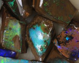 NO RESERVE!! #7 BOULDER Gamble Rough Opal [34307] 53FROGS
