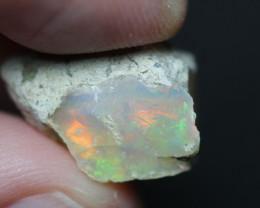 Natural 12.1ct Ethiopian Welo Rough Opal #REO410