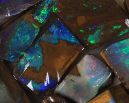 NO RESERVE!! #7 BOULDER Gamble Rough Opal [34314] 53FROGS
