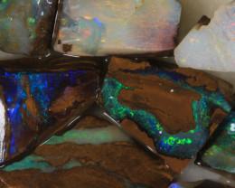 NO RESERVE!! #7 BOULDER Gamble Rough Opal [34319] 53FROGS