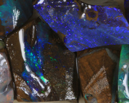 NO RESERVE!! #7 BOULDER Gamble Rough Opal [34322] 53FROGS