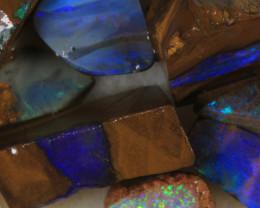 NO RESERVE!! #7 BOULDER Gamble Rough Opal [34327] 53FROGS