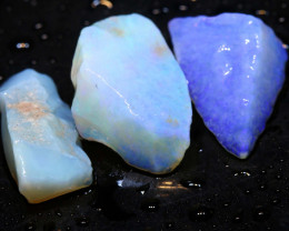 10.50cts coober pedy crystal opal rough ADO-8929 - adopals