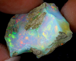 17cts Natural Ethiopian Welo Rough Opal / WR7897