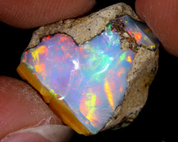 10cts Natural Ethiopian Welo Rough Opal / WR7929