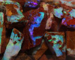 Boulder pipe Opal JARS OF FUN TO EXPLORE Jar-12 - downunderopals