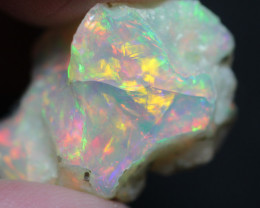 Natural 14.4ct Ethiopian Welo Rough Opal #REO492