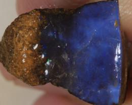 NO RESERVE!! #5 BOULDER Gamble Rough Opal [34346] 53FROGS