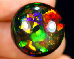12.21cts Natural Ethiopian Smoked Welo Opal / AABF7501