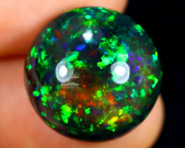 14.51cts Natural Ethiopian Smoked Welo Opal / AABF7504