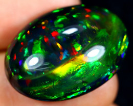 23.02cts Natural Ethiopian Smoked Welo Opal / AABF7511