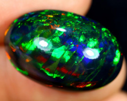 16.18cts Natural Ethiopian Smoked Welo Opal / AABF7515