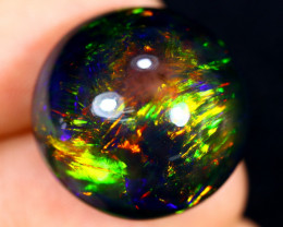 23.34cts Natural Ethiopian Smoked Welo Opal / AABF7518