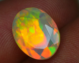 1.980 CRT BEAUTIFUL CLOUD PATTERN  FACETED MULTI PLAY COLOR  WELO*