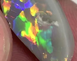 Multicolour Bright Stunning Pattern on Nobby Rub #1627