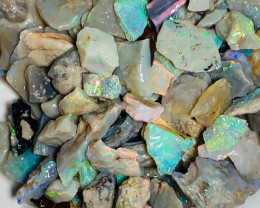 CHIPS - Super Bright Multicolour Rough Seam Opal Chips, Bright & Beautiful
